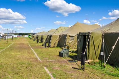 Cel-Fi connects military training camp
