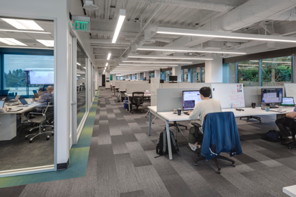 QUATRA lights up new office space